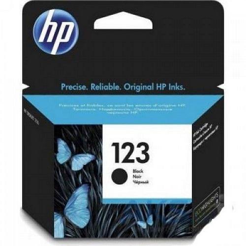 کارتریج جوهرافشان 123 اچ پی مشکی اورجینال HP 123 Black