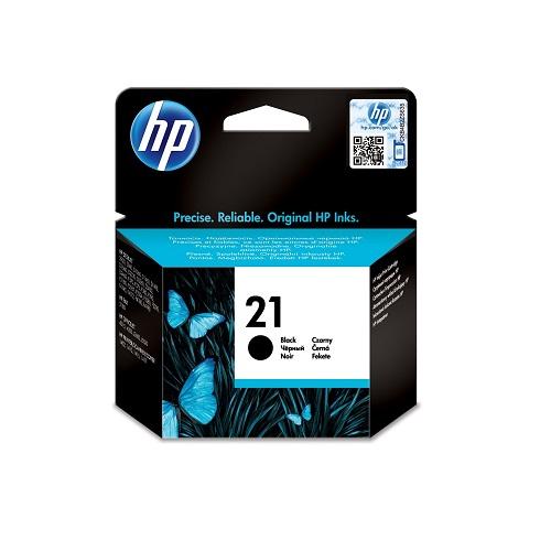 کارتریج جوهرافشان 21 اچ پی مشکی اورجینال HP 21 Black