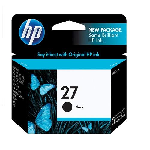 کارتریج جوهرافشان 27 اچ پی مشکی اورجینال HP 27 Black