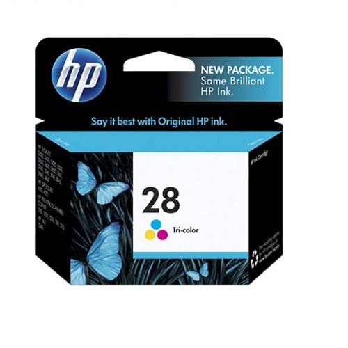 کارتریج جوهرافشان 28 اچ پی رنگی اورجینال HP 28 Tri-color