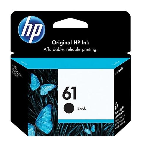 کارتریج جوهرافشان 61 اچ پی مشکی اورجینال HP 61 Black | الوکارتریج