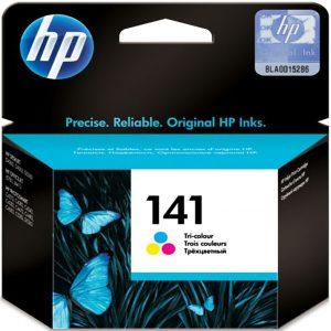 کارتریج جوهرافشان 141 اچ پی رنگی اورجینال HP 141 color