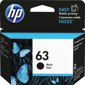 کارتریج جوهرافشان 63 اچ پی مشکی اورجینال HP 63 Black