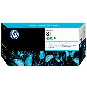 هد پلاتر HP 81 آبی اورجینال HP 81 Cyan Original Printhead
