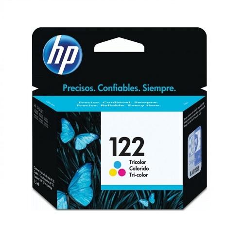 کارتریج جوهرافشان 122 اچ پی رنگی اورجینال HP 122 Tri-color Ink