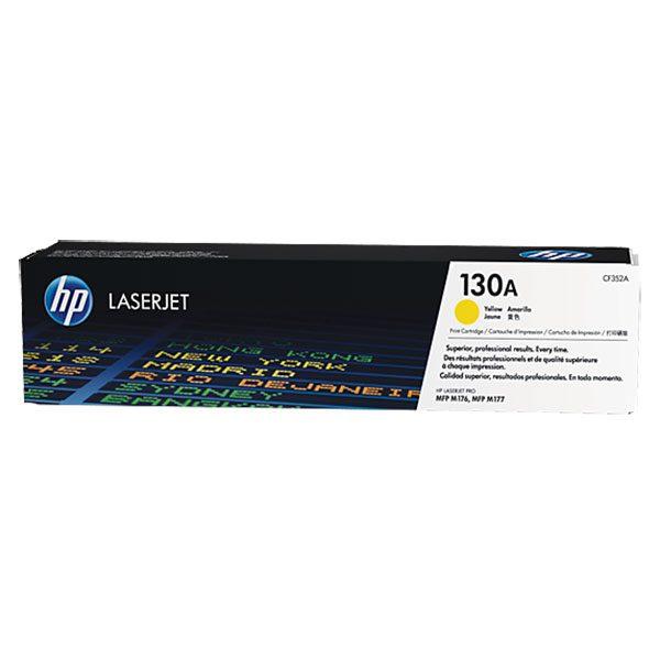 کارتریج 130A زرد اچ پی غیر اورجینال HP 130A Yellow Cartridge