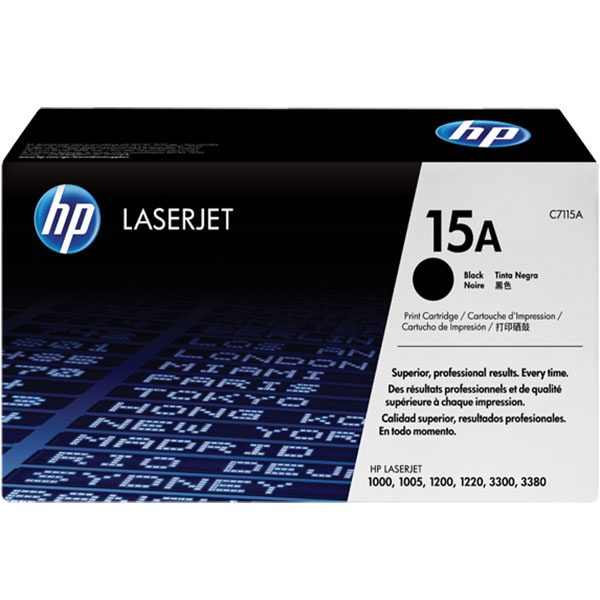 کارتریج 15A مشکی اچ پی اورجینال HP 15A Black Cartridge