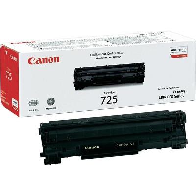 کارتریج 725 کانن مشکی اورجینال CANON 725 Black