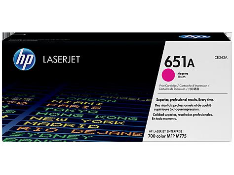 کارتریج 651A قرمز اچ پی غیر اورجینال HP 651A Magenta Cartridge