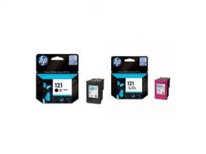کارتریج جوهرافشان HP 121 دوبل HP 121 Combo Pack Cartridge