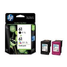 کارتریج جوهرافشان HP 61 دوبل HP 61 Combo Pack Cartridge