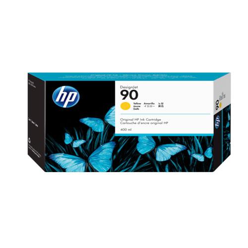کارتریج جوهری پلاتر HP 90 زرد طرح HP 90 Yellow Ink Cartridge