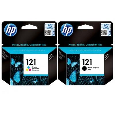 کارتریج جوهرافشان 121 اچ پی دوبل اورجینال HP 121 Combo Pack Cartridge