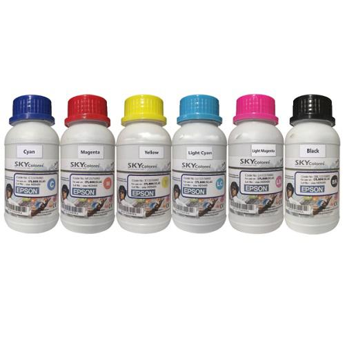 ست جوهر 200ml اسکای رنگی اپسون Sky 200ml ink Set color Epson