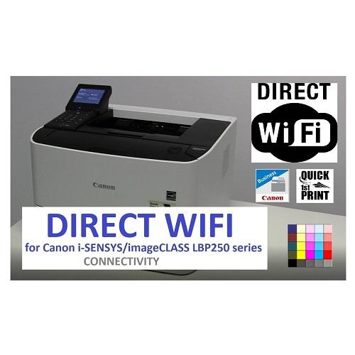 ویدیو نحوه اتصال به Wifi Direct در پرینتر LBP251dw کانن