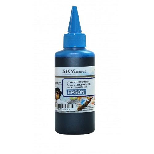 جوهر 100ml اسکای آبی اپسون Sky 100ml ink cyan Epson