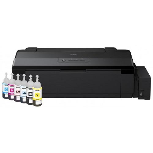 جوهر فابریک پرینتر L1800 اپسون EPSON L1800 ORIGINAL ink