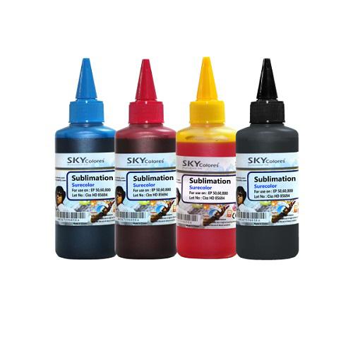 جوهر 100ml سابلیمیشن اسکای چهار رنگ اپسون Sky Sublimation ink CMYK Epson