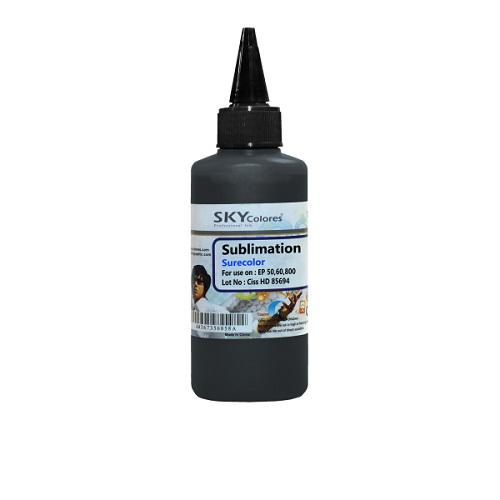 جوهر 100ml سابلیمیشن اسکای مشکی اپسون Sky Sublimation ink Black Epson