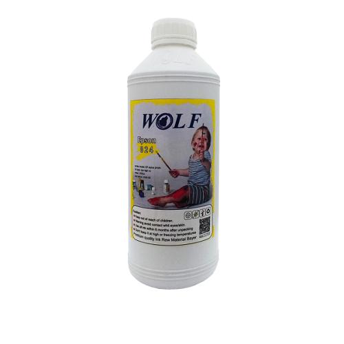 جوهر 1لیتری ولف زرد اپسون Wolf Ink Yellow 1litre Epson