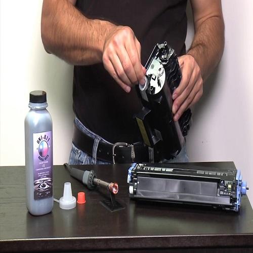 7 قدم تا شارژ کارتریج پرینتر لیزری یا دستگاه کپی