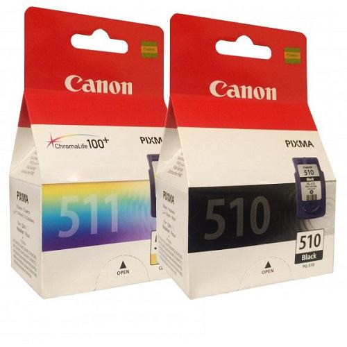 کارتریج جوهرافشان 510 -511 کانن اورجینال Canon PG-510 - CL-511