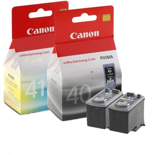 کارتریج جوهر افشان PG-40 CL-41 کانن اورجینال Canon PG-40 CL-41 Ink