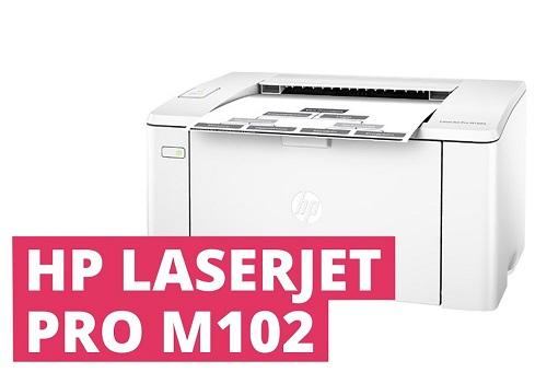 حل مشکل گیر کردن کاغذ پرینتر M102w اچ پی