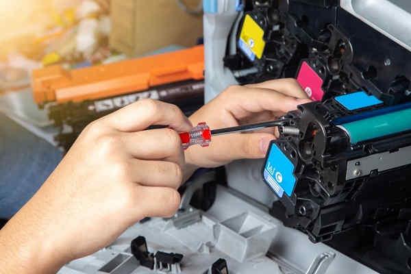 تعمیر به همراه شارژ کاتریج