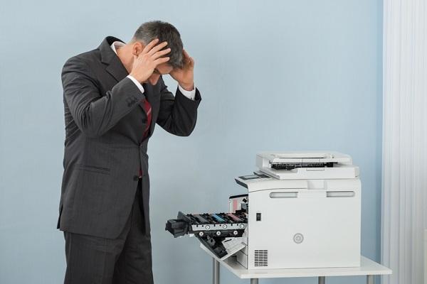 علت های گرفتگی دستگاه چاپ و بنر