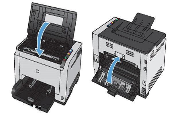 مراحلنصب کارتریج پرینتر HP CP1025