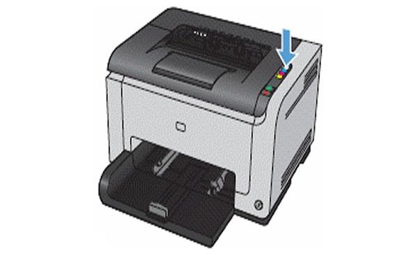 نصب کارتریج HP CP1025
