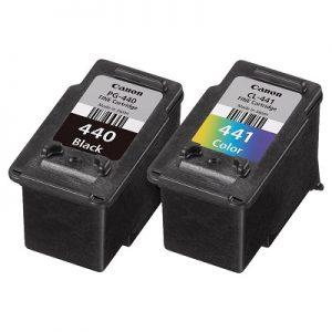 کارتریج جوهرافشان PG-440 CL-441 کانن دوبل غیراورجینال_ عکس استفاده شده در سایت aloocartridge.com