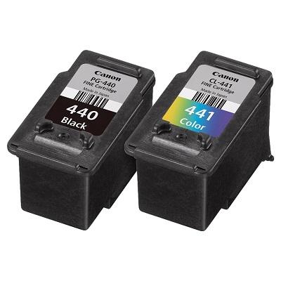 کارتریج جوهرافشان PG-440 CL-441 کانن دوبل اورجینال_ عکس استفاده شده در سایت aloocartridge.com
