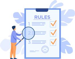 مطالعه ی لیست قوانین و خواندن راهنما و ایجاد چک لیست_ عکس استفاده شده در سایت aloocartridge.com