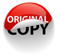 برچسب کپی و اورجینال_ عکس استفاده شده در سایت aloocartridge.com