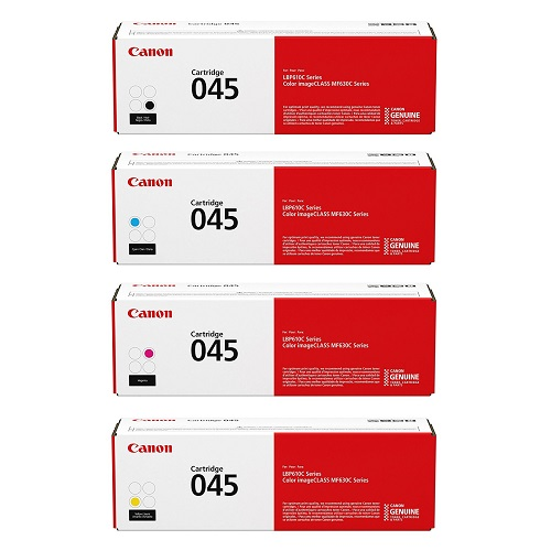 کارتریج 045 کانن سری کامل غیر اورجینال_ عکس استفاده شده در سایت aloocartridge.com