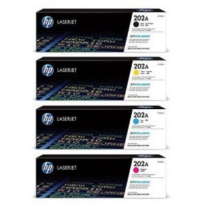 کارتریج لیزری 202A اچ پی سری کامل غیر اورجینال_ عکس استفاده شده در سایت aloocartridge.com