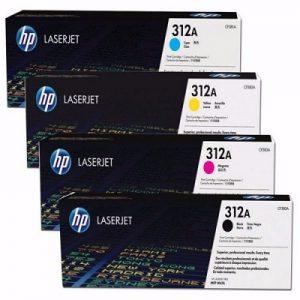 کارتریج 312A اچ پی سری کامل غیر اورجینال_ عکس استفاده شده در سایت aloocartridge.com