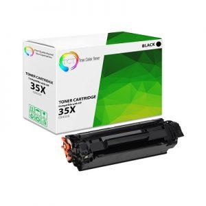 کارتریج لیزری 35x مشکی اچ پی غیر اورجینال_ عکس استفاده شده در سایت aloocartridge.com