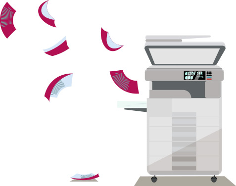 دستگاه کپی اداری حرفه ای_ عکس استفاده شده در سایت aloocartridge.com