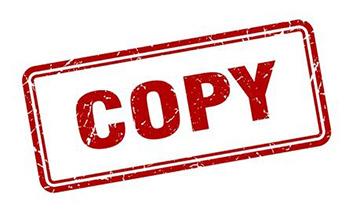 علامت مهر کپی_ عکس استفاده شده در سایت aloocartridge.com