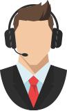 اپراتور پاسخگوی تلفنی_ عکس استفاده شده در سایت aloocartridge.com