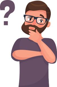 مردی در حال فکرکردن_ عکس استفاده شده در سایت aloocartridge.com