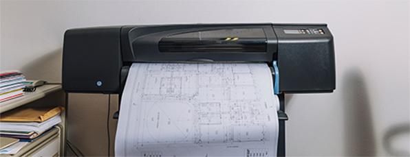 پرینتر در حال چاپ_ عکس استفاده شده در سایت aloocartridge.com