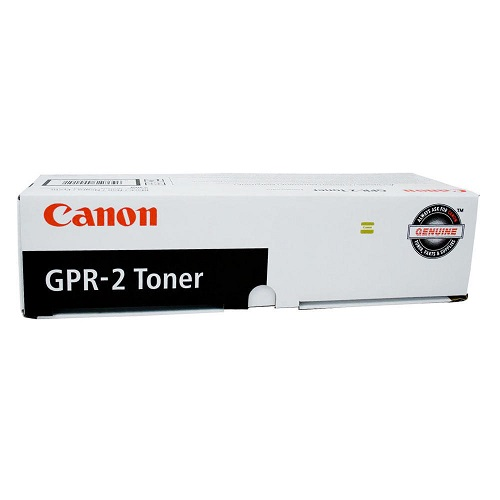 کارتریج لیزری GPR-2 مشکی کانن اورجینال- عکس استفاده شده در سایت aloocartridge.com