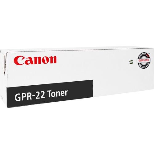 کارتریج لیزری GPR-22 مشکی کانن اورجینال- عکس استفاده شده در سایت aloocartridge.com