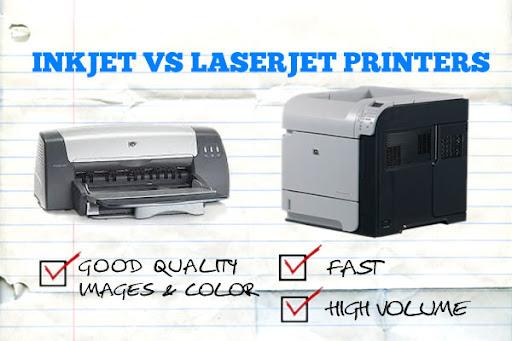 تفاوت های پرینتر لیزری و جوهرافشان-عکس استفاده شده در سایت aloocartridge.com